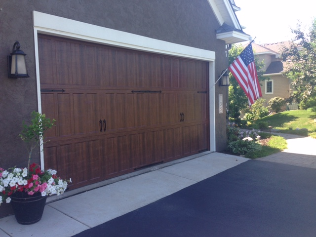 Amarr Classica North Hampton Garage Door In Walnut